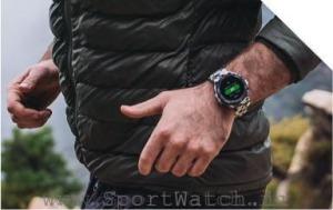 ساعت هوشمند تیرکس و دویدن در کوهستان