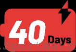 40 روز کار مداوم با یک بار شارژ