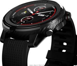 صفحه نمایش لمسی ساعت هوشمند آمازفیت استراتوس