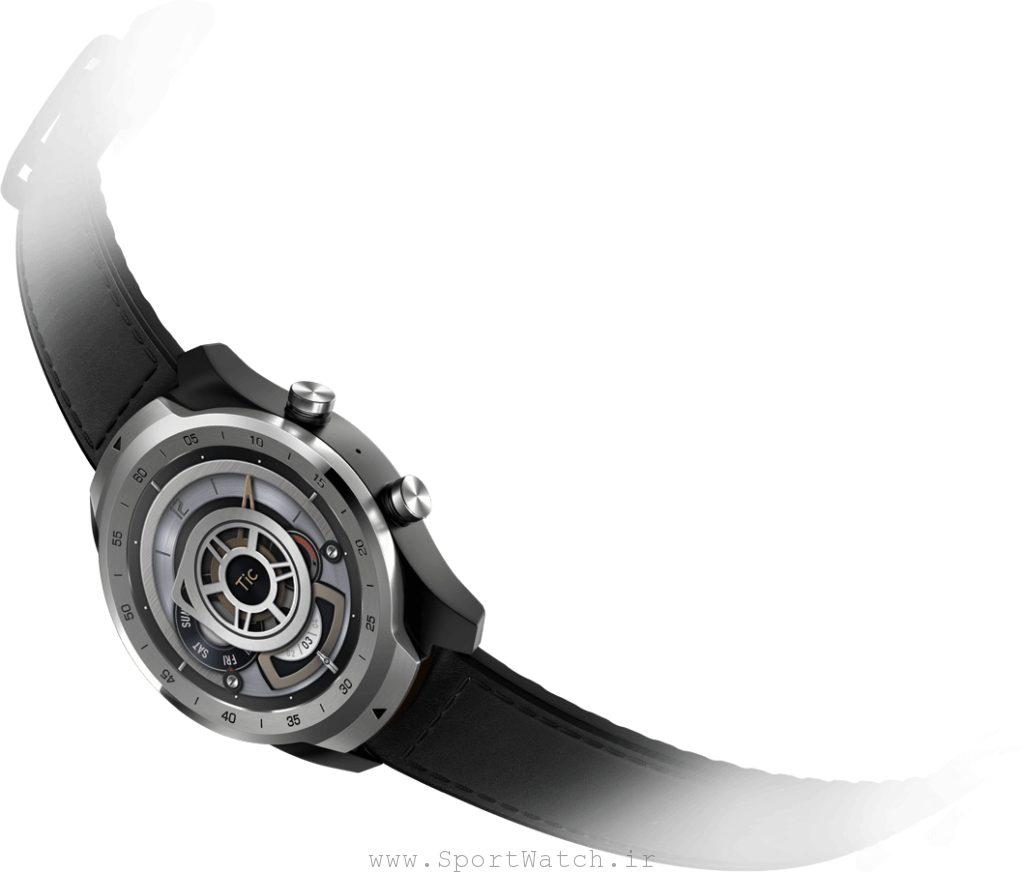 طراحی زیبا و مقاومت فیزیکی ساعت هوشمند تیک واچ پرو