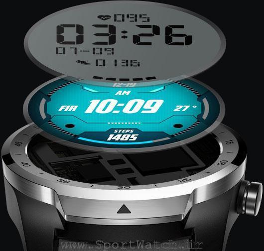 ساعت تیک واچ پرو دارای دو صفحه نمایش