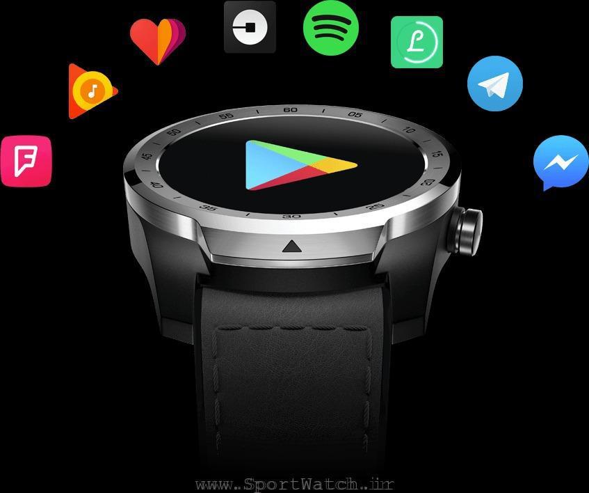 اپلیکیشن های اندرویدی برای ساعت هوشمند تیک واچ پرو