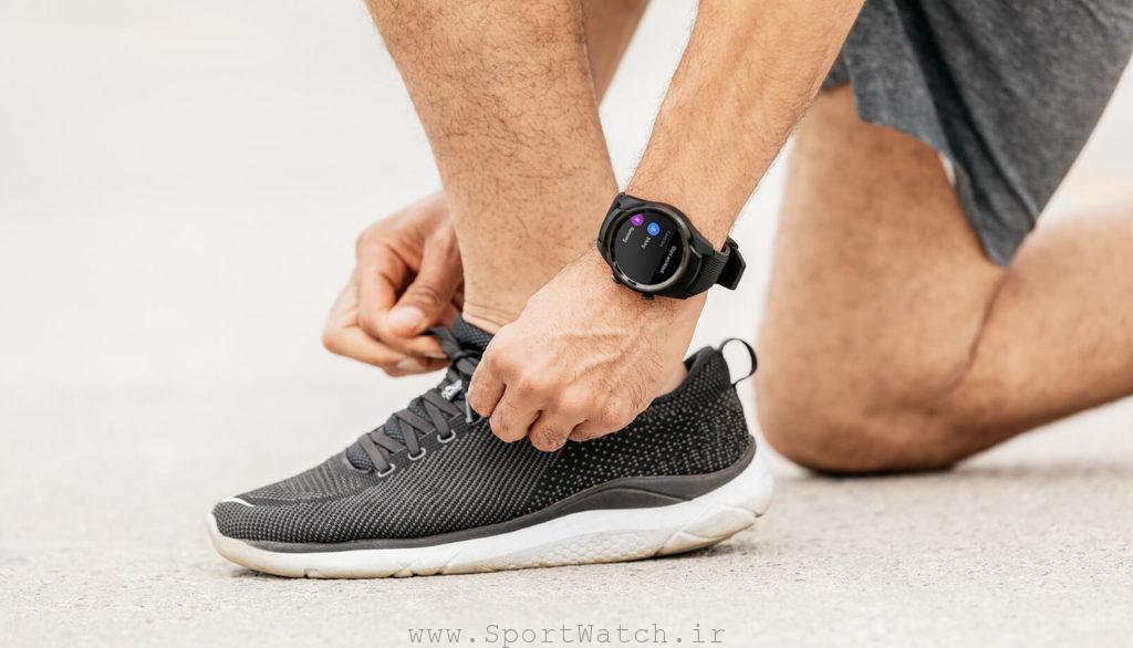 ساعت هوشمند ticwatch pro 4g
