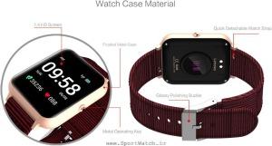 ساعت هوشمند Lenovo S2 طلایی