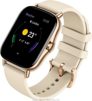 ساعت هوشمند آمازفیت جی تی اس 2 طلایی رنگ