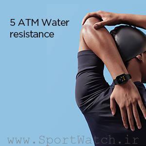 ساعت هوشمند آمازفیت بیپ یو، مقاوم در برابر نفوذ آب