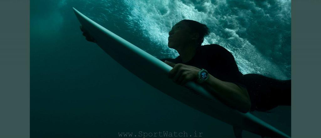 شنا و موج سواری با تیرکس پرو