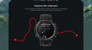 جی پی اس در ساعت هوشمند تیرکس پرو