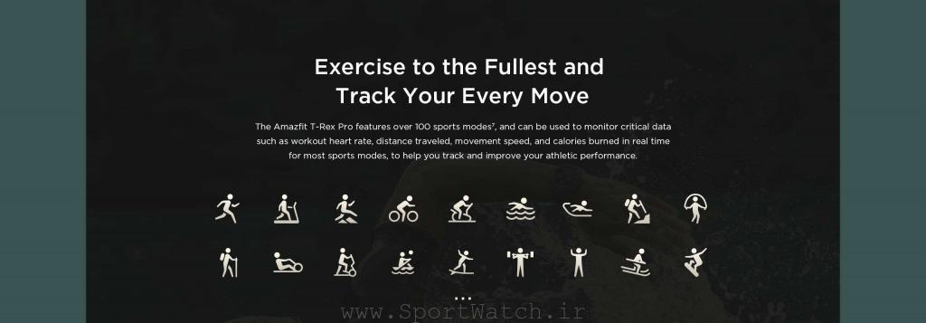 ساعتی مقاوم و حرفه ای برای ورزش های گوناگون