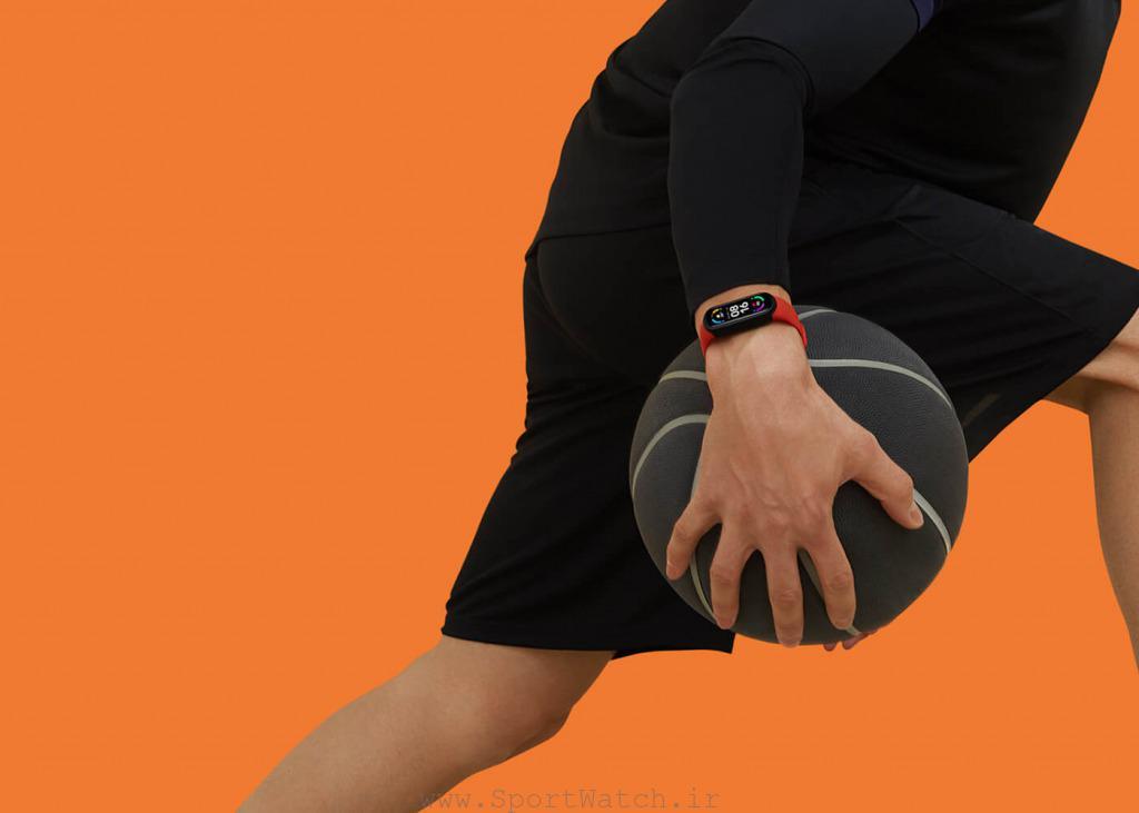 ورزش با Mi Smart Band 6