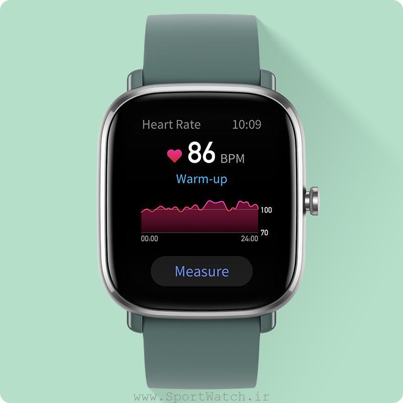 ساعتی برای کنترل ضربان قلب و سلامتی شما