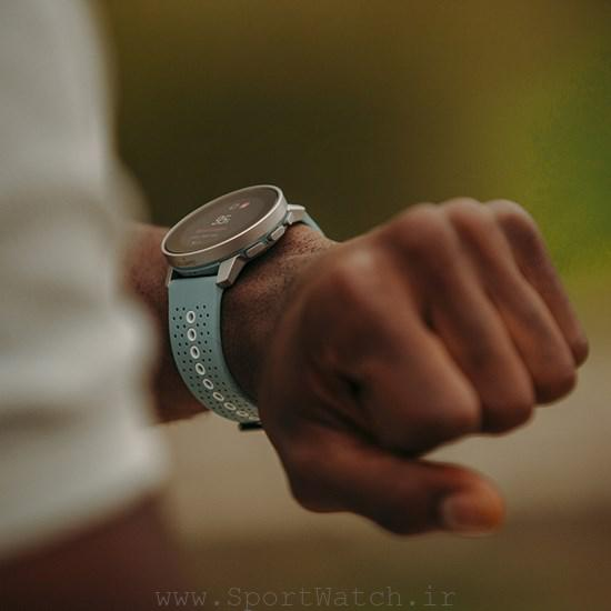 suunto 9 peak moss gray on wrist